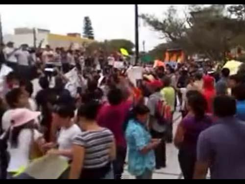 Pe�a Nieto Rechazado en Coatzacoalcos