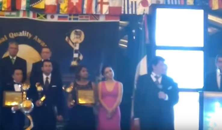 Andr�s Roemer entre los Ganadores Premio Global Quality Foundation